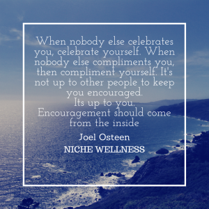 When nobody else celebrates you,